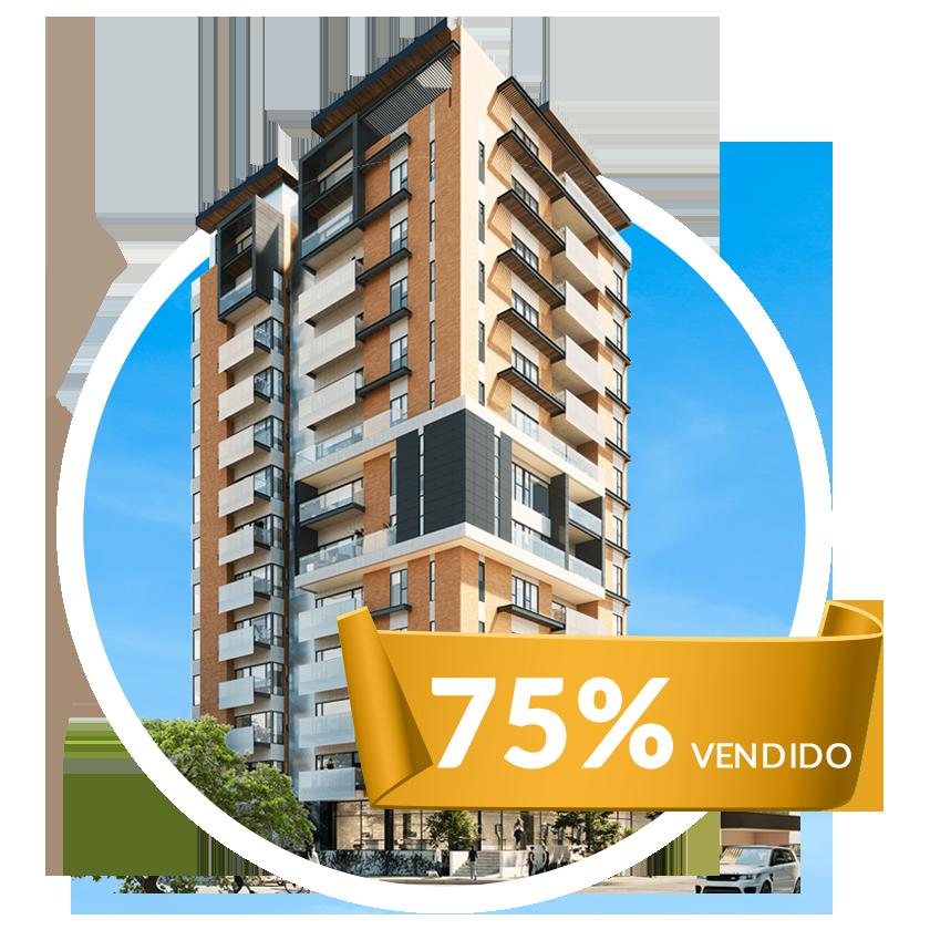 75% Vendido